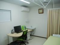 第2診察室 混雑時などに待ち時間をなるべく少なくするためにこちらも使用します